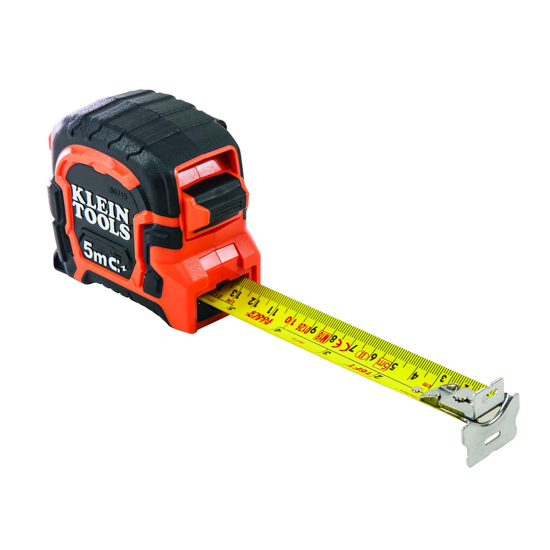 Tape Measure 5m Magnetic Double Hook Metric Sae 86315