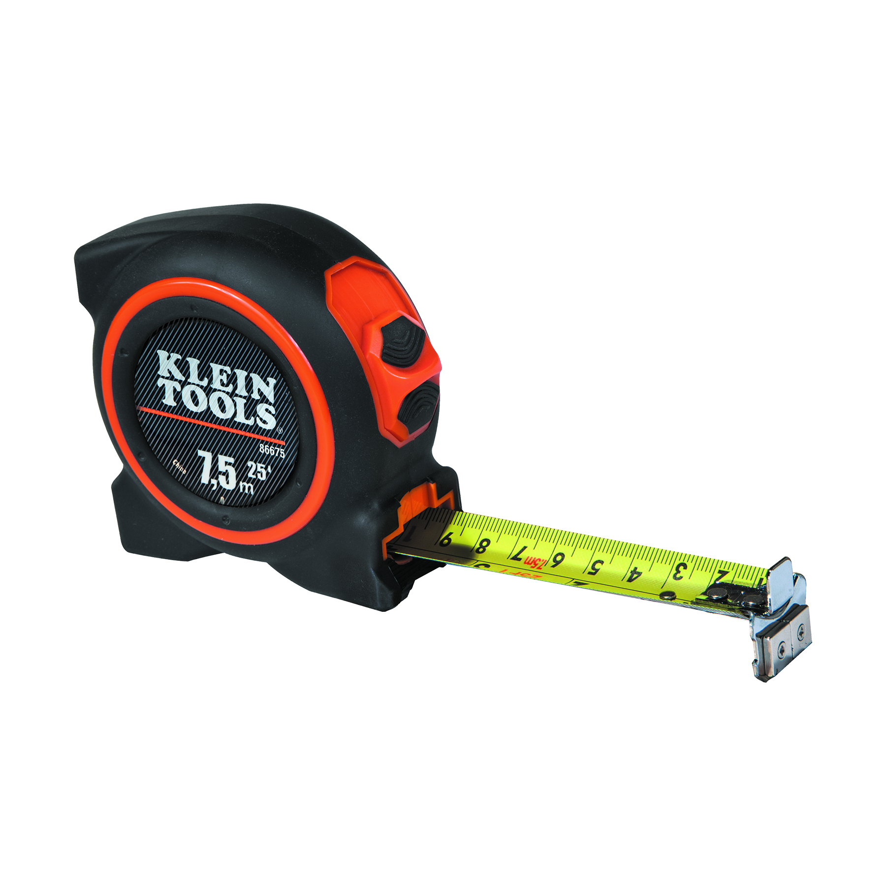 Tape Measure 7 5 M Magnetic Double Hook 86675 Klein