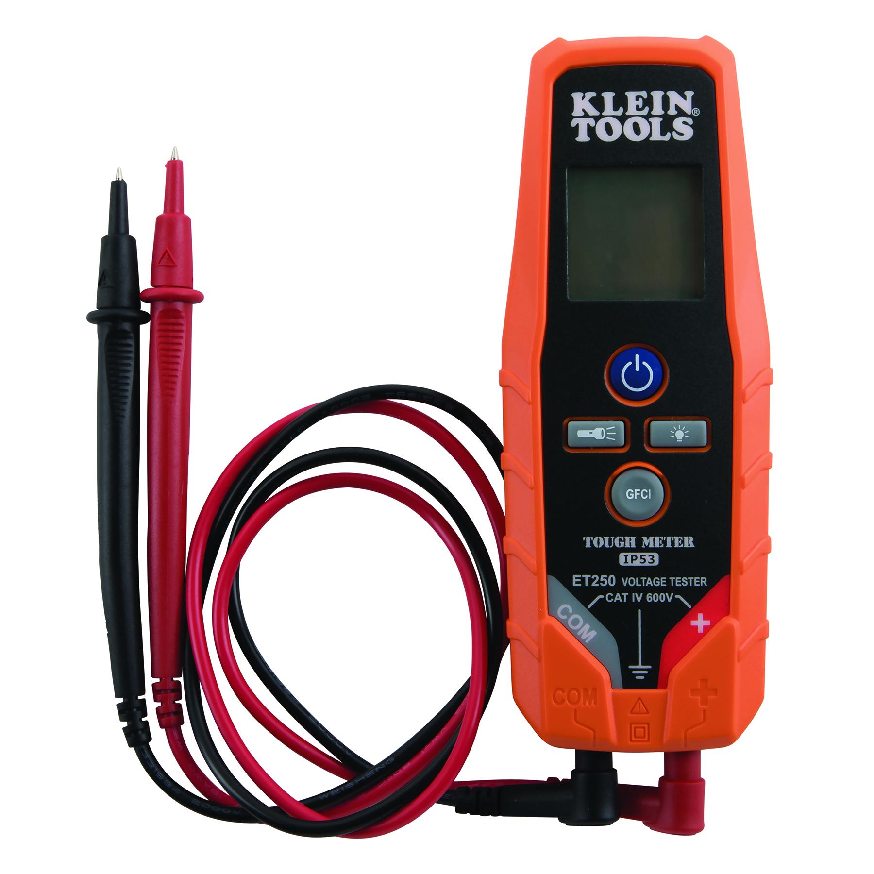 Ac Dc Voltage Continuity Tester Et250 Klein Tools