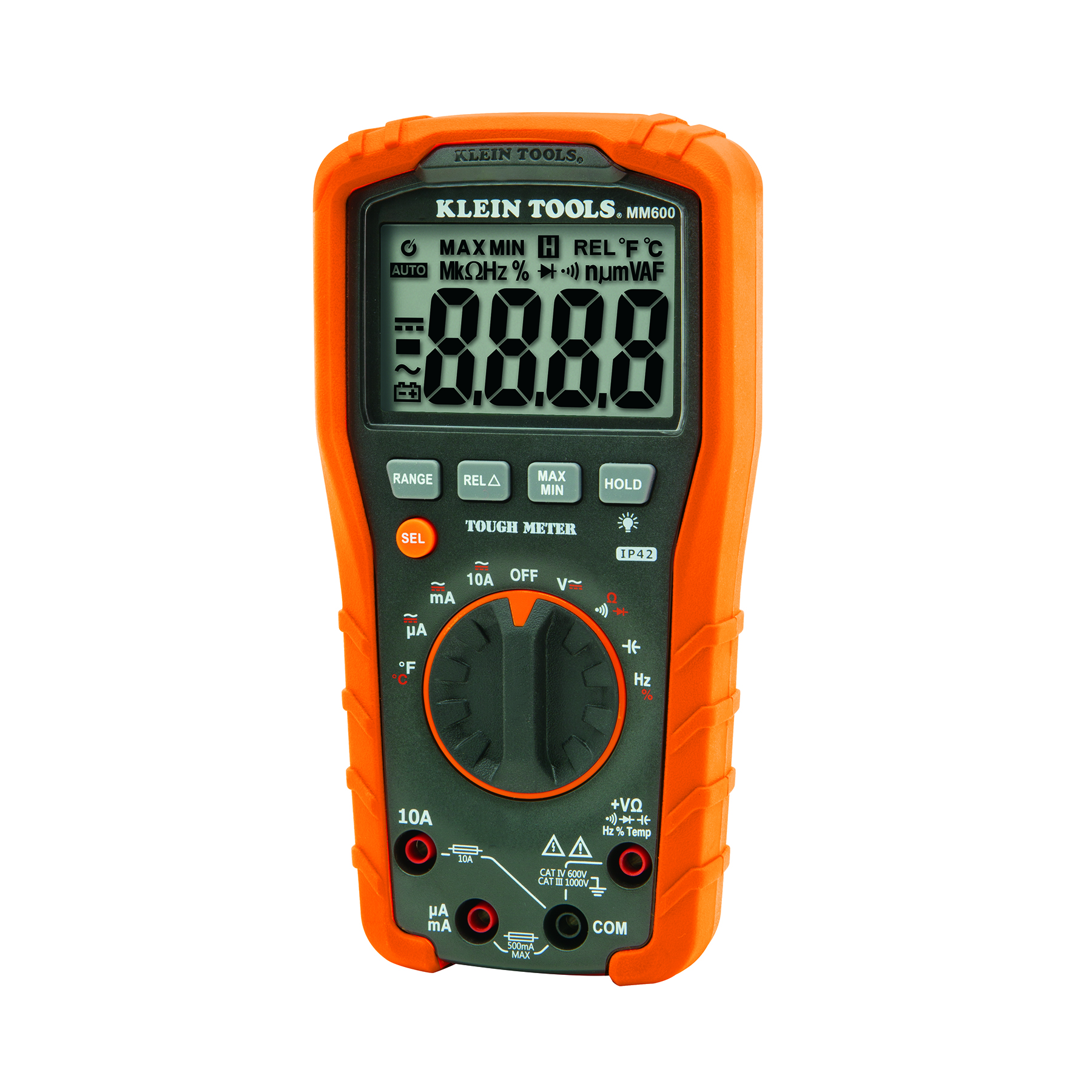 Digital Multimeter Leads : Digital multimeter auto ranging v mm klein