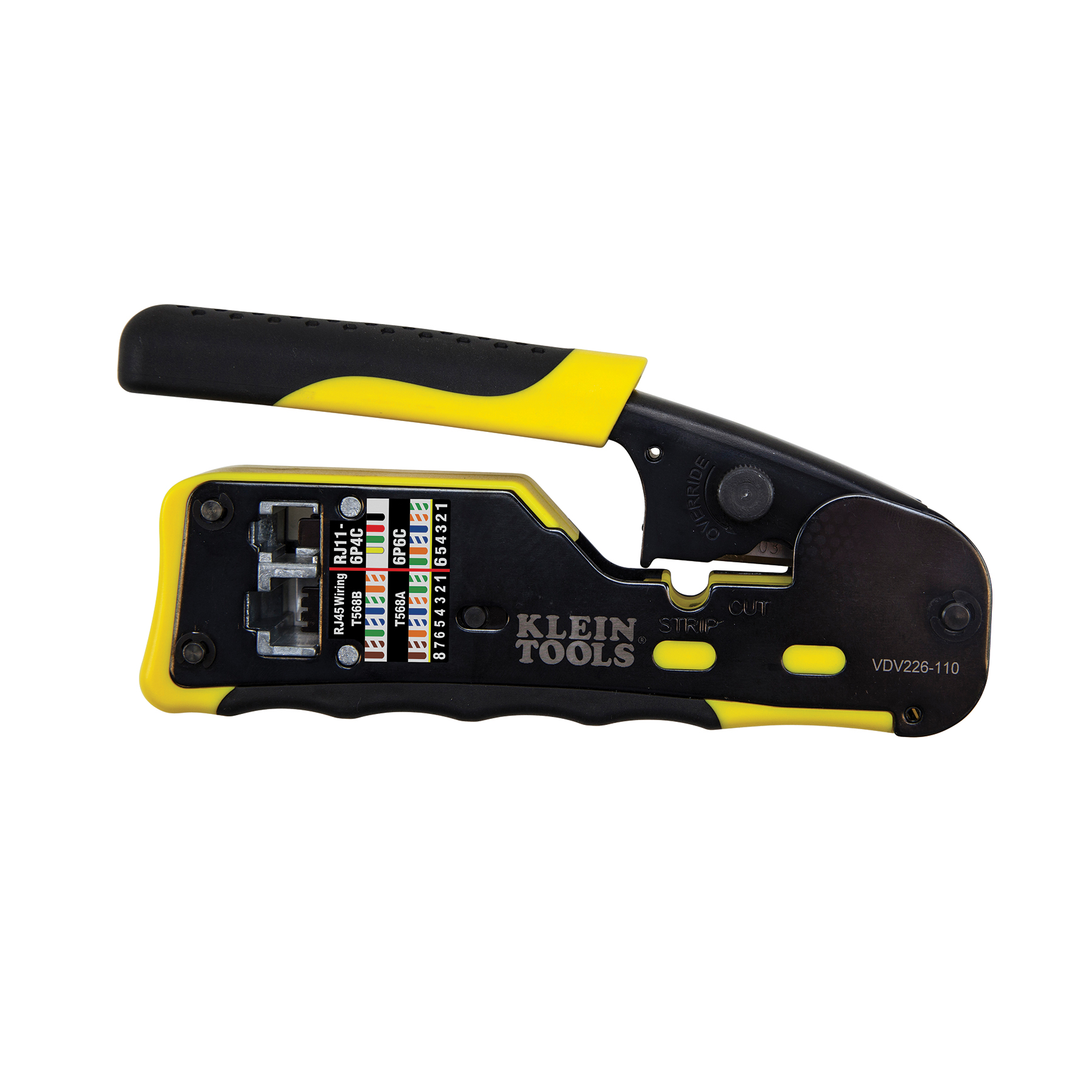 Ratcheting Pass-Thru™ Modular Crimper - VDV226-110